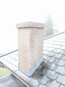 Opbygning af ny skorsten