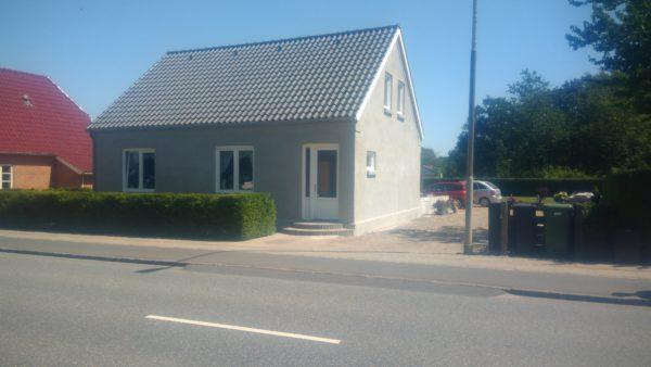 Renovering af hus med armeringspuds